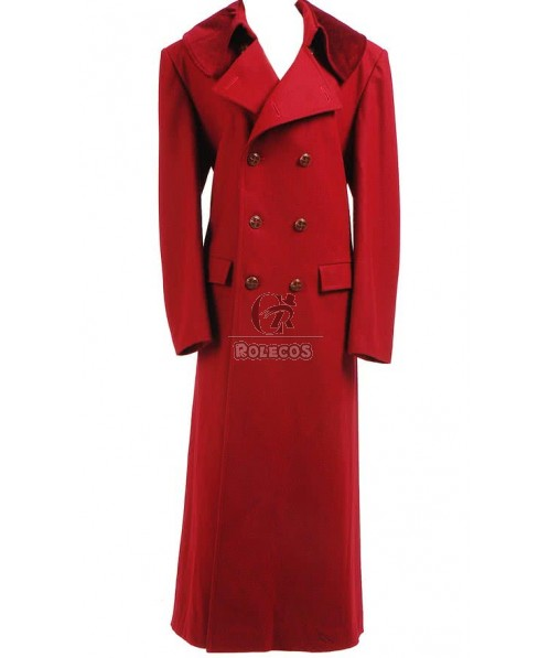 CosDaddy Cosplay Red Long Trenchcoat