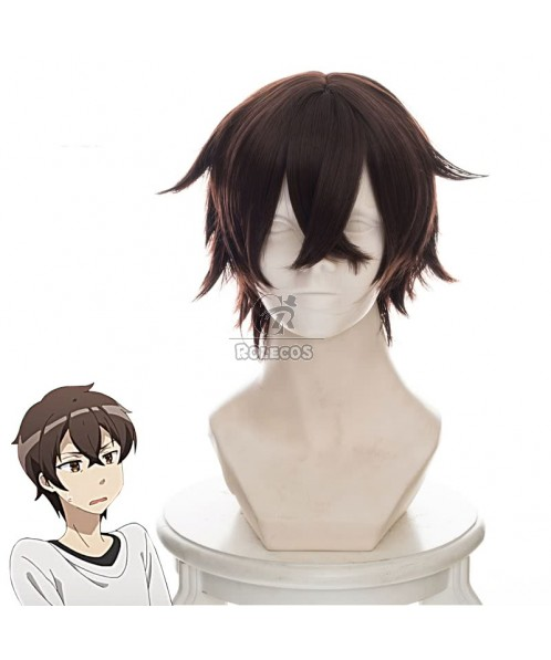 A Sister's All You Need Hashima Itsuki Brown Short Cosplay Wigs