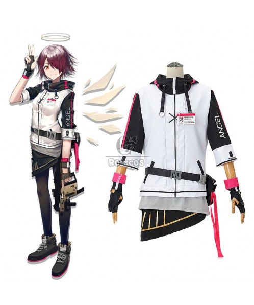 Game Arknights Exusiai Cosplay Costume