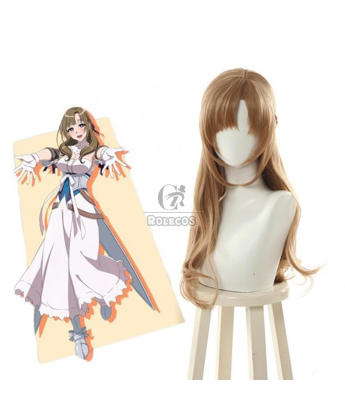Do You Love Your Mom and Her Two-Hit Multi-Target Attacks?Mamako Oosuki  Brown Long Cosplay Wigs