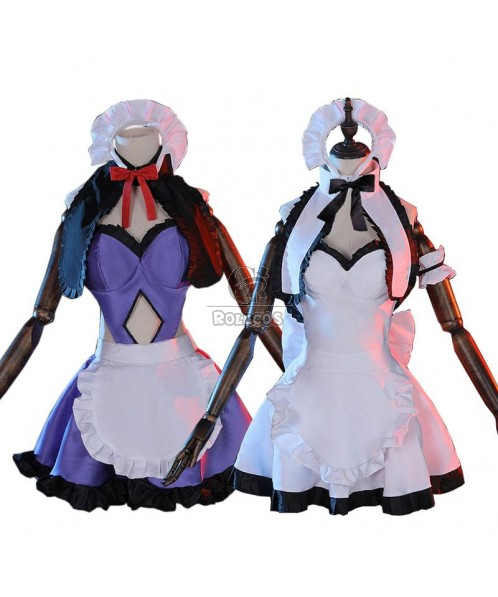 Fate/Grand Order Fate Go Jeanne d'Arc Maid 2 Colors Cosplay Costume