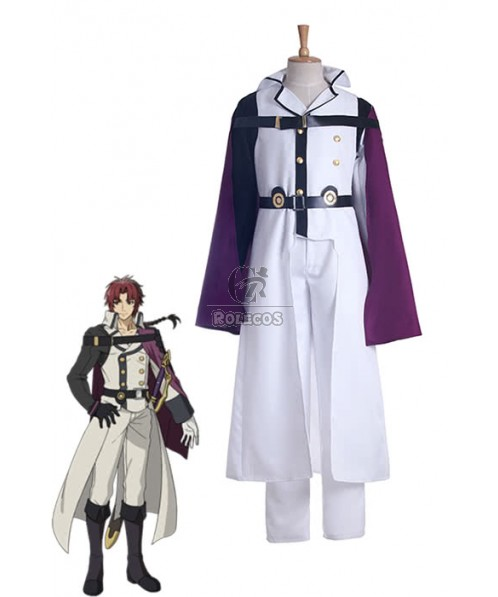 Seraph Of The End Crowley Eusford Cosplay