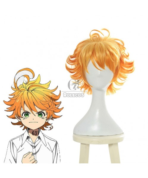 The Promised Neverland Emma Blonde Curly Wigs