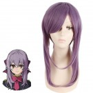 30CM Seraph Of The End Shinoa Hiragi Lila Styled Perücke