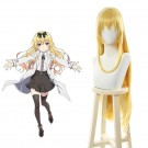 Arifureta From Commonplace to World's Strongest Yue Blonde Long Cosplay Wigs