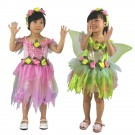Nette Kinder-Halloween-Kostüm Schmetterling Schöner Faery Princess Dress