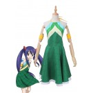 Vicwin-One Fairy Tail Wendy Marvell Grünes Kleid Cosplay Outfits