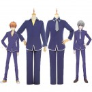Fruitsbasket Yuki soma Kyo soma School Uniform Cosplay Costume