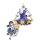 Love Live Bouquet Awaken Sonoda Umi Blue Dress Anime Cosplay Costumes