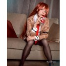 Steins; Gate-Makise Kurisu Cosplay