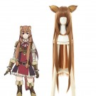 Tate no Yuusha no Nariagari Raphtalia Brown Long Cosplay Wigs