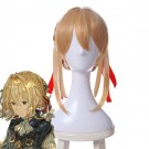 Anime Violet Evergarden Violet Evergarden Synthetic Short Blonde Cosplay Wigs
