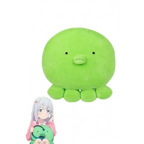 Eromanga Sensei Izumi Sagiri Green Cute Anime Cosplay Pillows