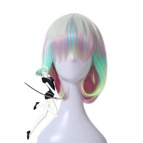 Land of the Lustrous Houseki no Kuni Diamond Mehrfarbig Cosplay Perücke