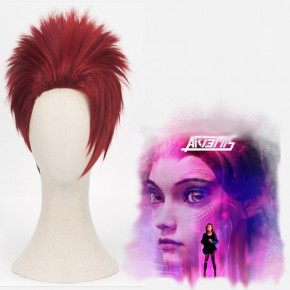 Ready Player One Art3mis Movie Mixed Short Cosplay Wigs