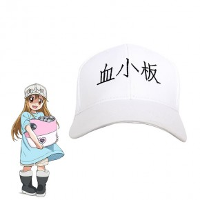 Hataraku Saibou Cells At Work Platelet Cosplay Hat