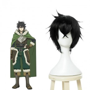 The Rising of the Shield Hero Naofumi Iwatani Black Short Cosplay Wigs
