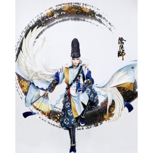 Game : Onmyoji Yin  Yang Master Abe no Seimei  Cosplay Csotume Full Sets