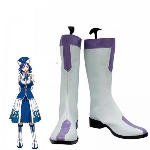 Fairy Tail Anime Juvia Lockser Cosplay Schuhe Stiefel