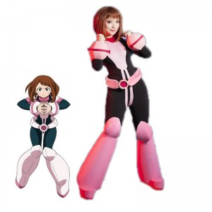 My Hero Academia Ochako Uraraka Anime Battle Cosplay Costumes