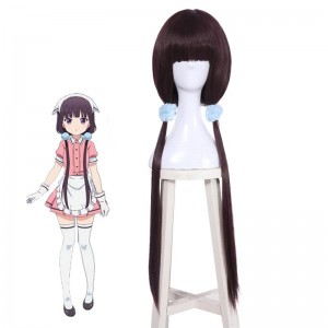 Blend S Sakuranomiya Maika Anime Anime Cosplay Purple Wigs