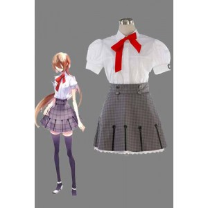 Starry Sky Yahisa Tsukiko Summer School Uniform Cosplay