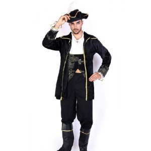 Piraten der Karibik Cool Schwarz-Klage Cosplay