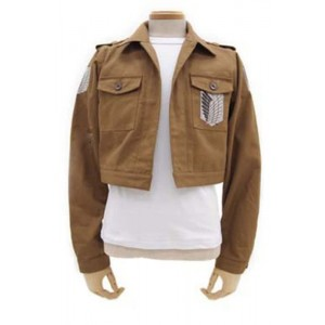 Angriff auf Titan Das Recon Corps Wings of Freedom Jungen Jaket Cosplay