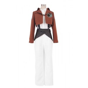 Angriff auf Titan Stationiert Corps Rosa rugosa Uniform Cosplay costme