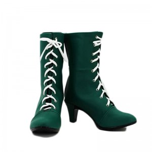 Sailor Moon Sailor Jupiter Kino Makoto Cosplay Schuhe Grüne Stiefel Tailor Made