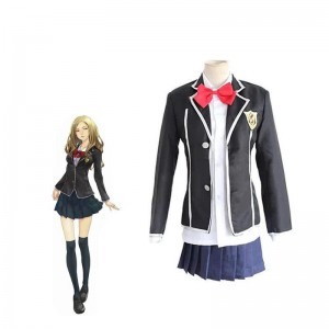 Guilty Crown Kuhouin Arisa Schule Weibliche Uniform Cosplay