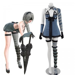 Action Role-Playing Video Game Nier Automata Game 2b  YoRHa No.2 Type B Dlc Cosplay Costume