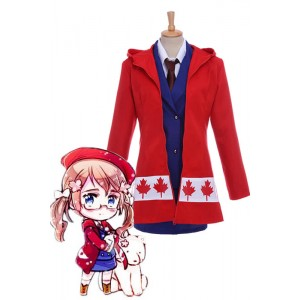 Axis Powers Hetalia APH Kanada Cosplay