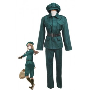 Axis Powers Hetalia Ungarn Uniformen Cosplay-Made