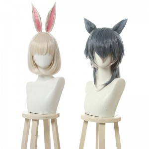 BEASTARS Haru & Legoshi Anthropomorphic Wig Cosplay Wigs Contains Ears
