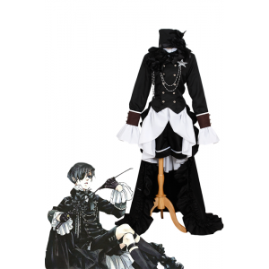 Black Butler Ciel Phantomhive Cosplay Klassische Uniform in der Partei