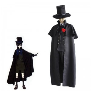 Black Butler Ciel Phantomhiv Funeral Canonicals Cosplay Costume