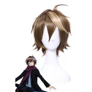 Brown Guilty Crown OUMA SHU Anime Cosplay Wigs