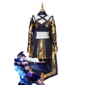 LOL GameIce Shooter Ashe Women Cosplay Costume