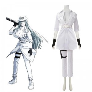 Cells at Work! Code Black Hakkekkyuu U-1196 Cosplay Costume