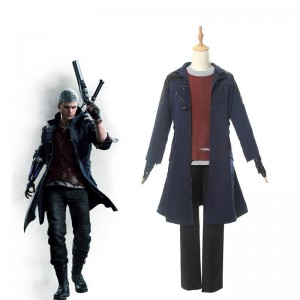 Devil May Cry 5 Nero Cosplay Costume Full Sets