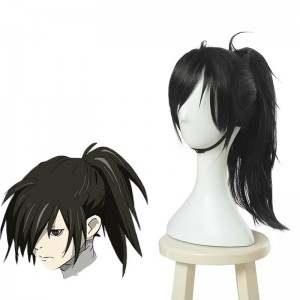 Dororo Hyakkimaru Black Long Cosplay Wigs
