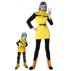 Dragon Ball Bulma Anime Cosplay Kostüme Halloween Erwachsene Kinder Kostüme