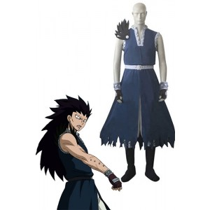 Fairy Tail Dragon Slayer Gajeel Redfox Cosplay