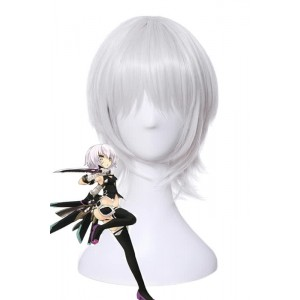 Fate/Apocrypha Assassin of Black Jack the Ripper White Cosplay Wigs