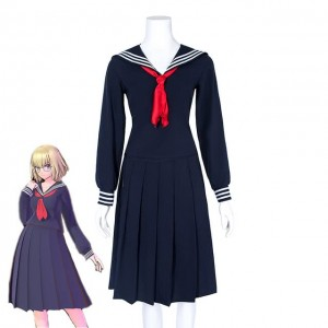 Fate Grand Order Aya Asagiri Janpanese Sailor Uniform Cosplay Costume