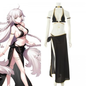 Fate Grand Order Jeanne d'Arc Bikini Set Cosplay Costume
