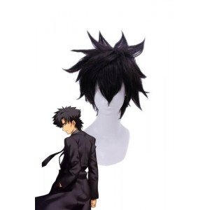Fate/Zero Emiya Kiritsugu Short Black Cosplay Wigs