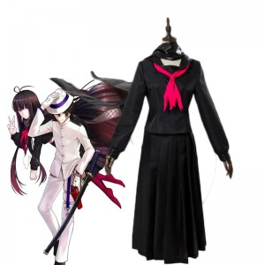 FateGrand Order  Black Student Uniform Cosplay Costume