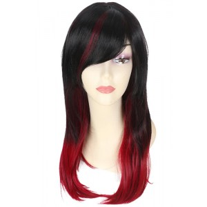 Black fade wine red